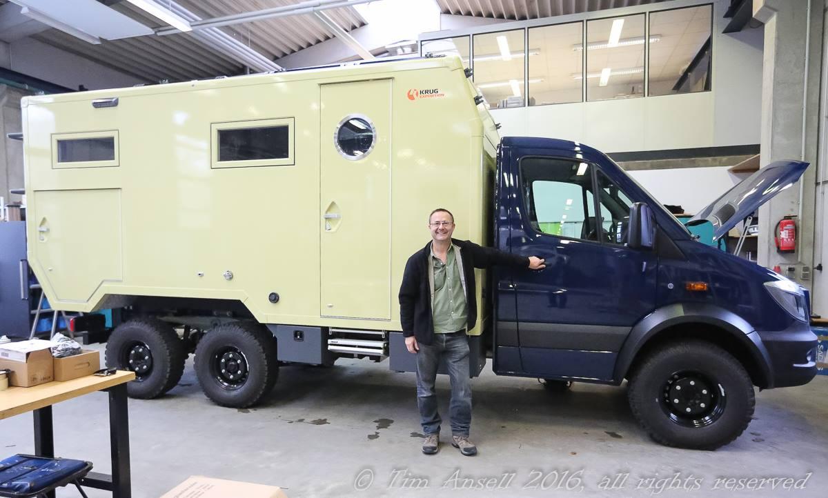 My truck at Hellgeth Engineering