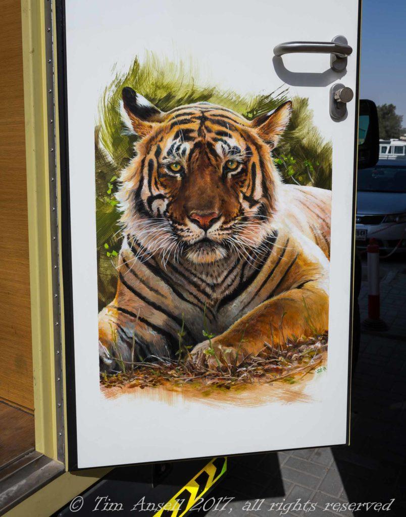 TTT Tiger door